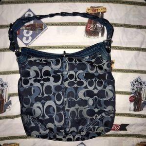 Coach bag blue